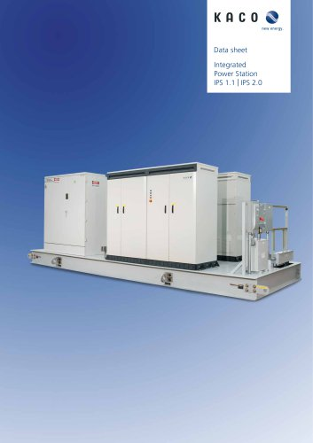 Integrated Power Station IPS 1.1 | IPS 2.0