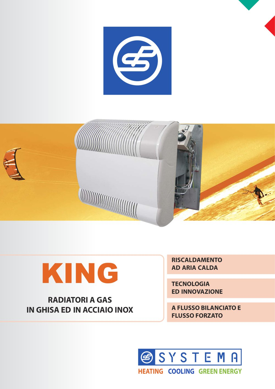 Riscaldamento Ad Aria A Gas.King Systema S P A Catalogo Pdf Documentazione Brochure