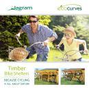 EcoCurves - Timber Bike Shelters