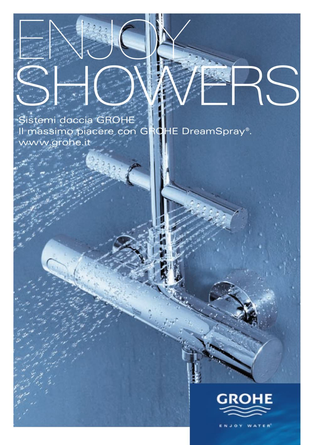Catalogo Rubinetteria Grohe Pdf.Enjoy Showers Grohe Catalogo Pdf Documentazione Brochure