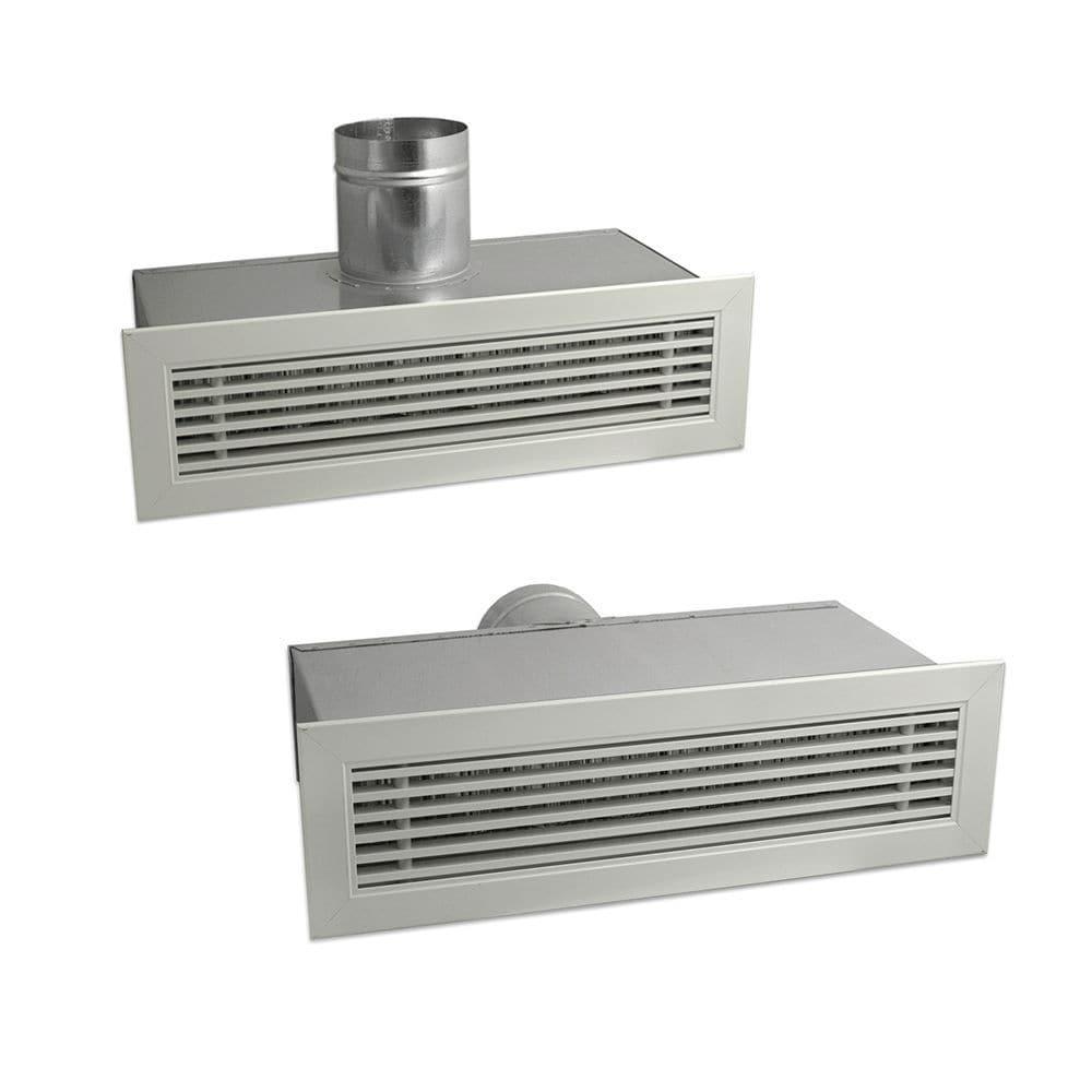 Griglia di ventilazione in alluminio - 7045064 / 7045066 ...
