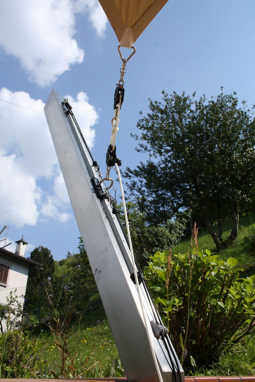 Vela Triangolare Da Giardino tenda a vela resistente agli uv - proverbio outdoor design