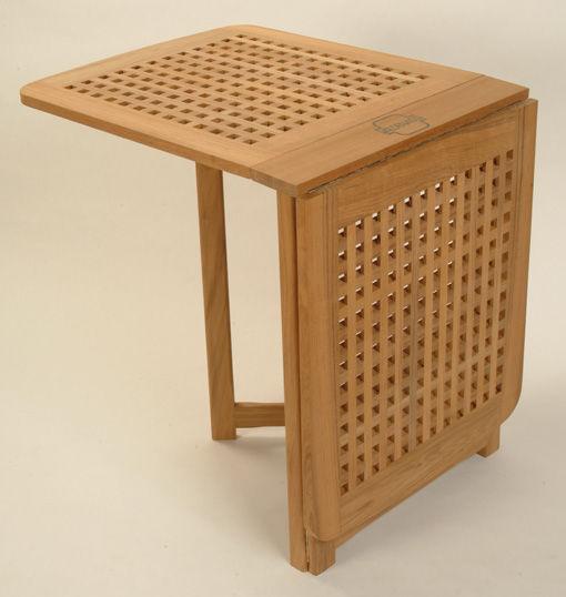 Tavolino Pieghevole Da Barca.Tavolo Classico In Legno Rettangolare Da Giardino