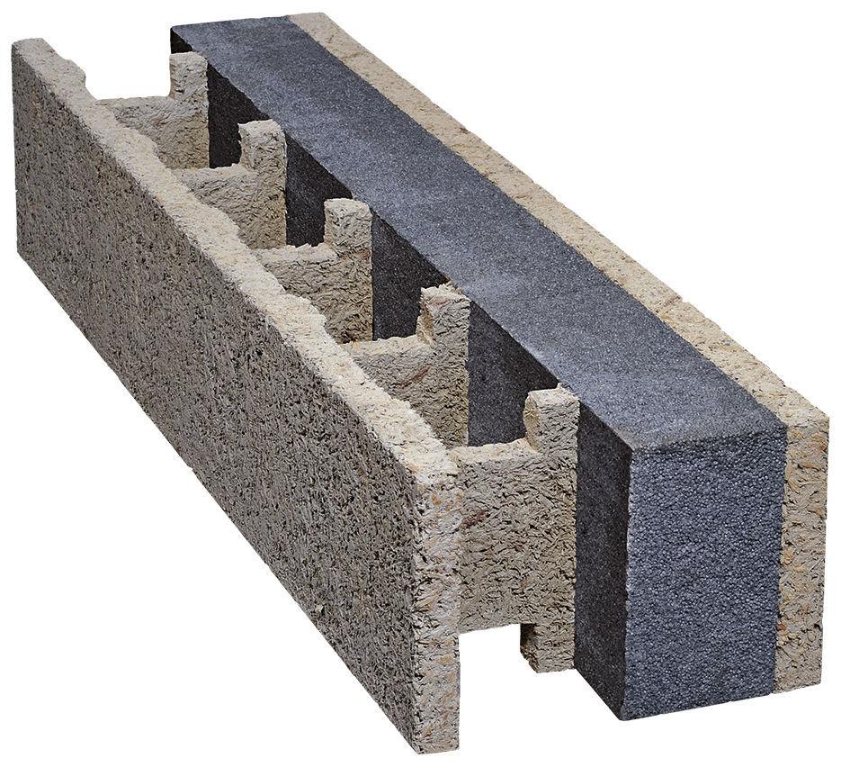 Blocchi Cemento Legno.Blocco Cassero In Legno Cemento Per Muro Esterno Portante Isolante Silver Isospan Baustoffwerk Gmbh
