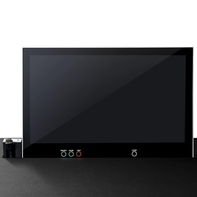 Scrivania Con Monitor A Scomparsa.Touch Screen Per Tavolo Da Conferenza Per Sistema Multimedia