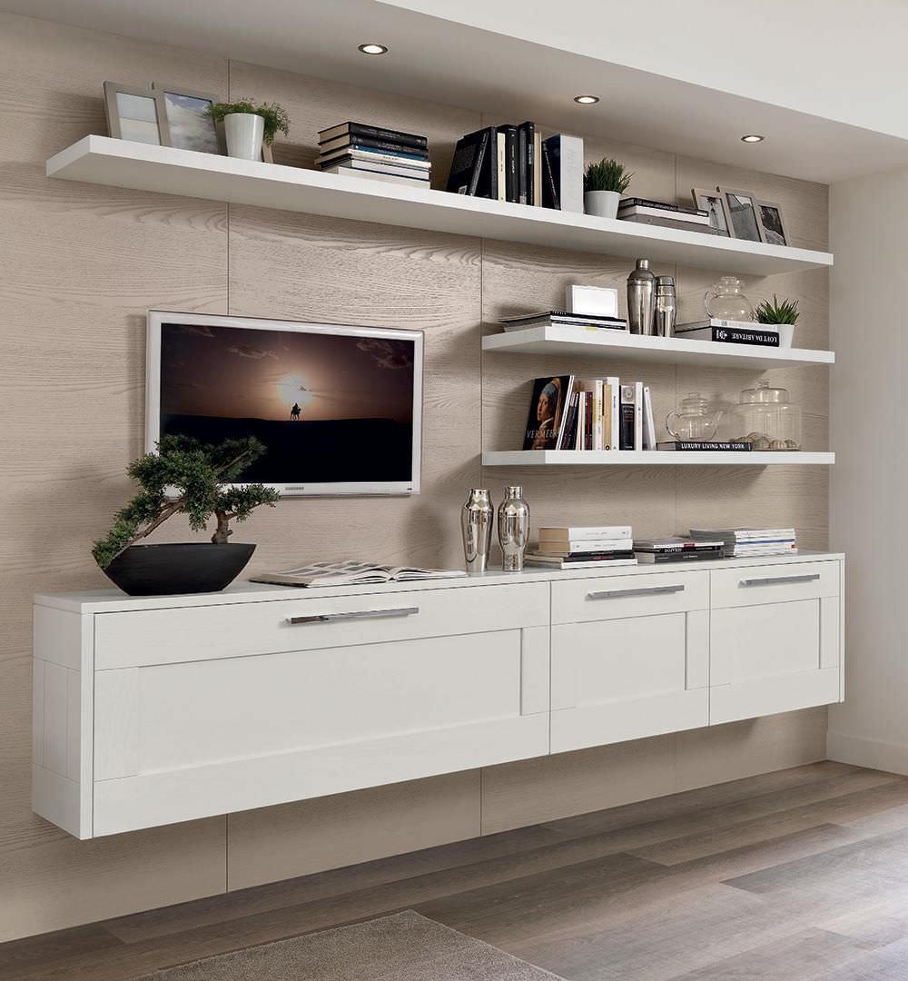 Cucine A Muro Foto credenza a muro - gallery - cucine lube - moderna / in legno