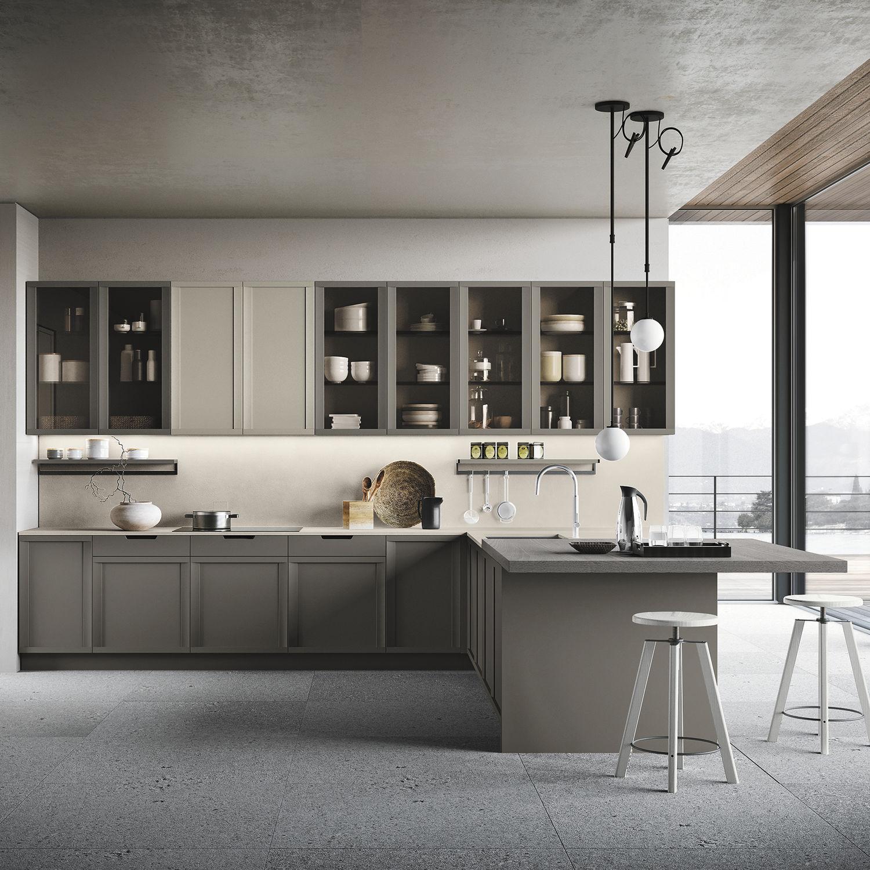 Cucina Moderna Newport Stosa Cucine In Rovere In Frassino In Pietra