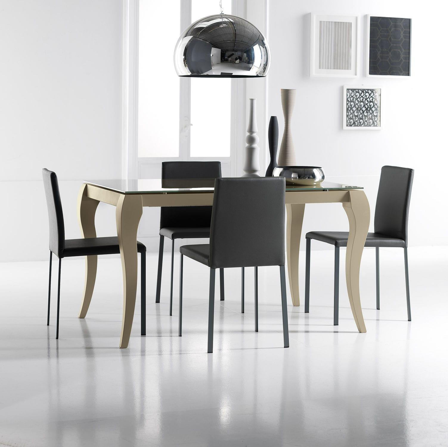 Tavolo da pranzo classico - ROMA - STOSA CUCINE - in vetro ...