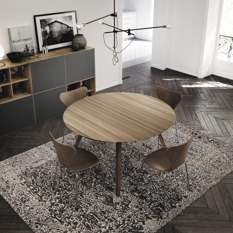 Tavolo da pranzo moderno - AISE - TREKU - in rovere / in ...