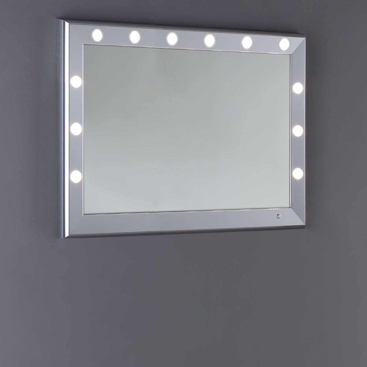 Specchio a muro / luminoso / da sala / per camera da letto ...