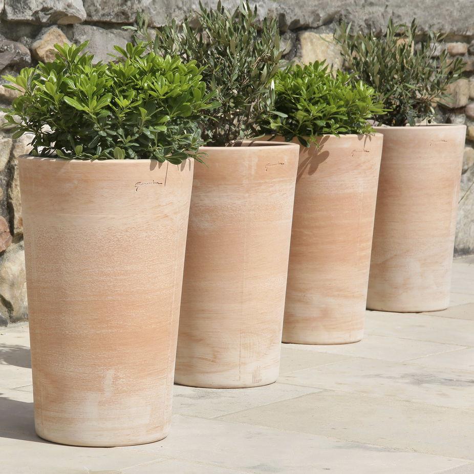 Vasi In Terracotta Per Giardino vaso da giardino in terracotta - vhs - poterie goicoechea