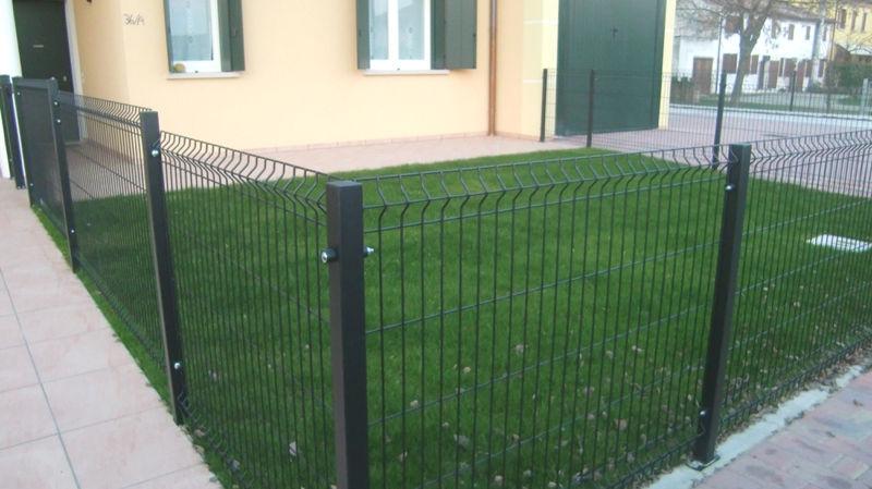 Recinzione Reti Per Giardino.Recinzione Da Giardino Vega Grigliati Baldassar S R L In
