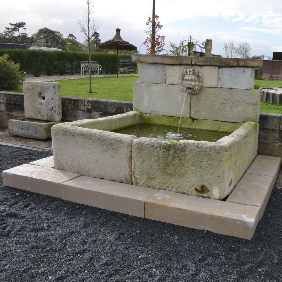 Vasche In Pietra Per Fontane fontana da giardino - bca materiaux anciens - pubblica / in