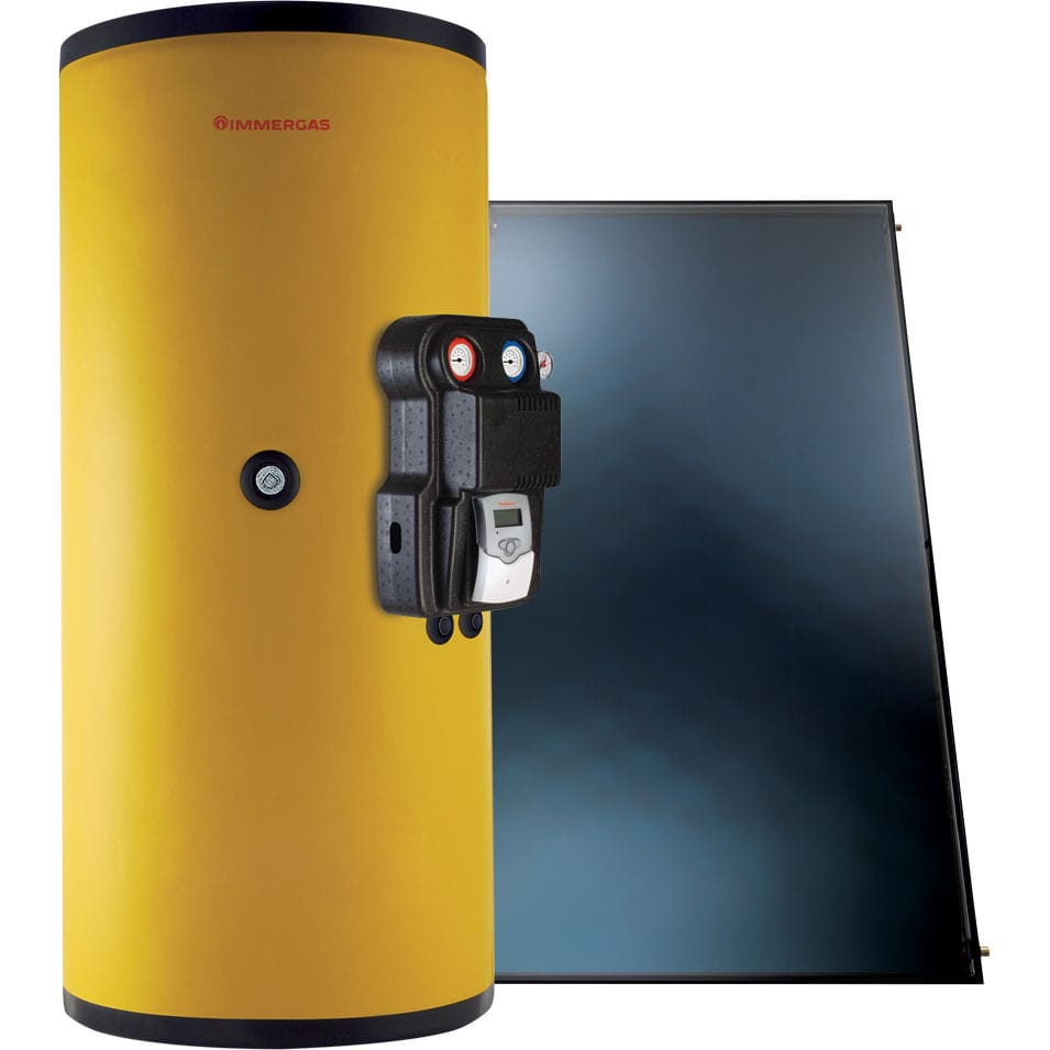 Kit solare per impianto termico - SOL 550 V2 - immergas ...