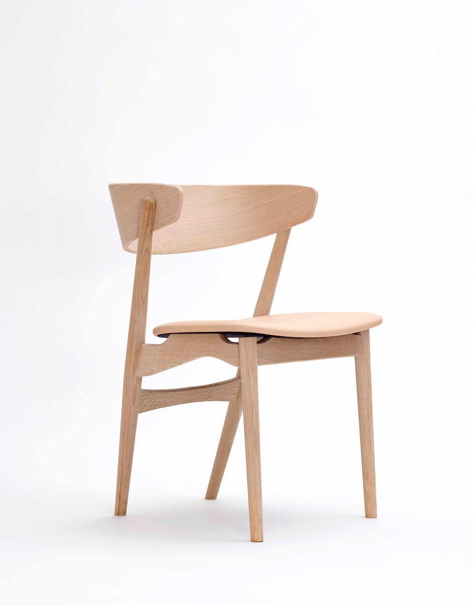 Sedie In Legno Curvato.Sedia Design Scandinavo In Lana In Quercia In Legno
