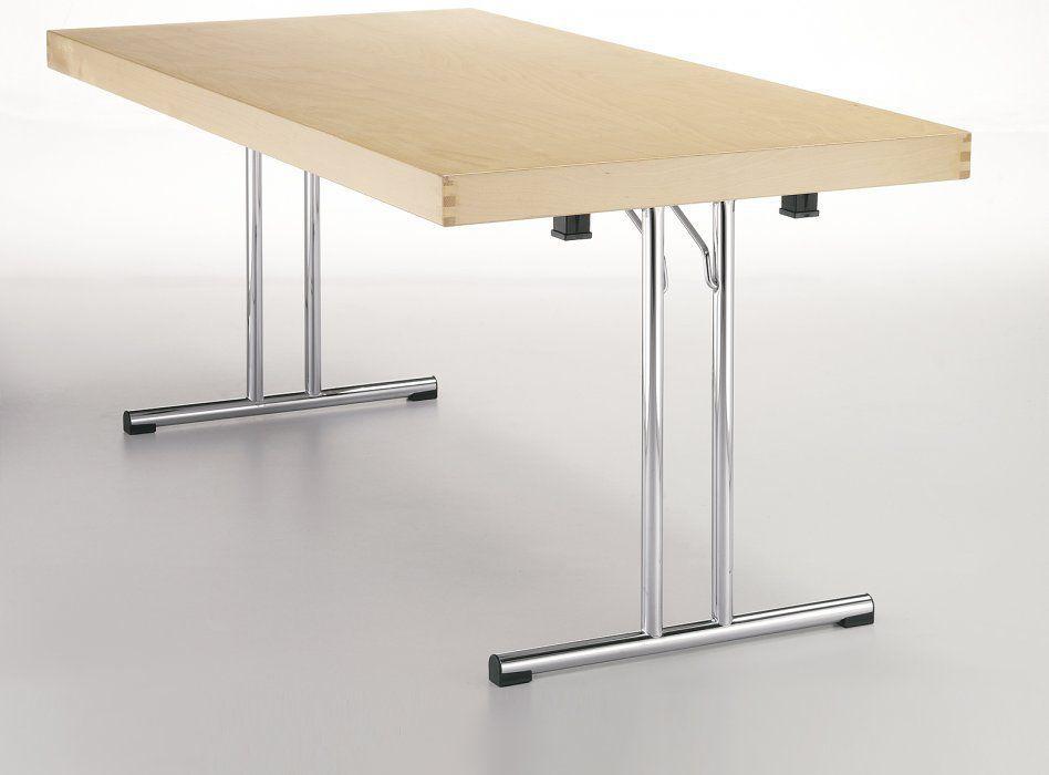 Strutture Per Tavoli Pieghevoli.Tavolo Moderno Epossidico In Metallo Verniciato Con Supporto