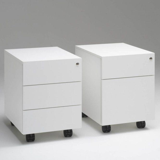 Cassettiera per ufficio in melaminico - PIANO - Standard ...