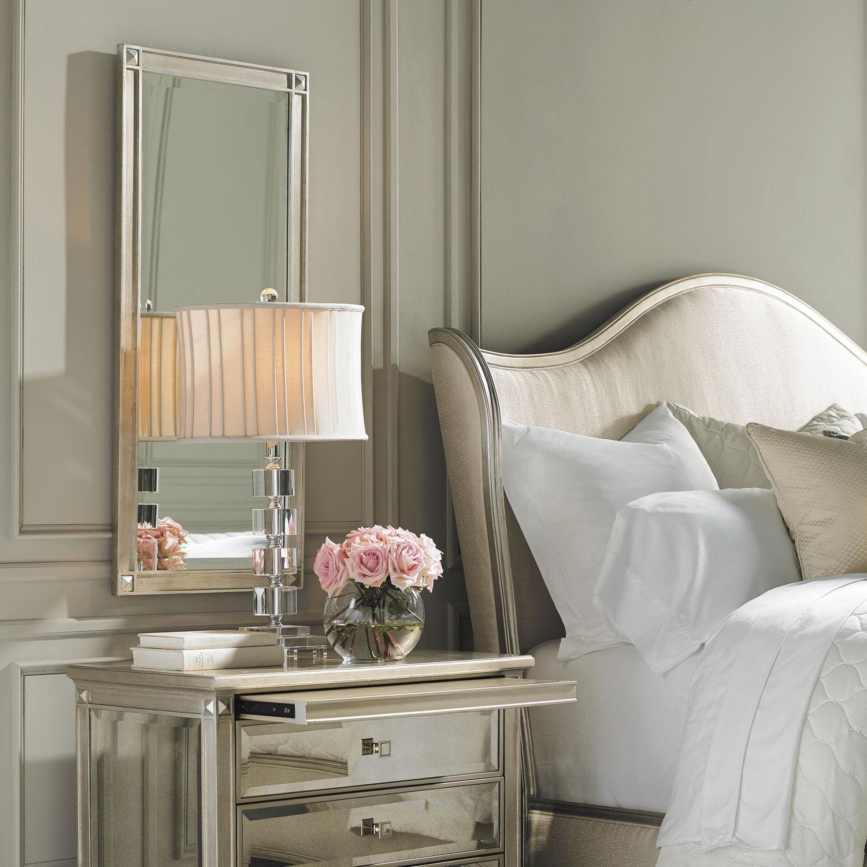 Specchio a muro / per camera da letto / classico / rettangolare ...