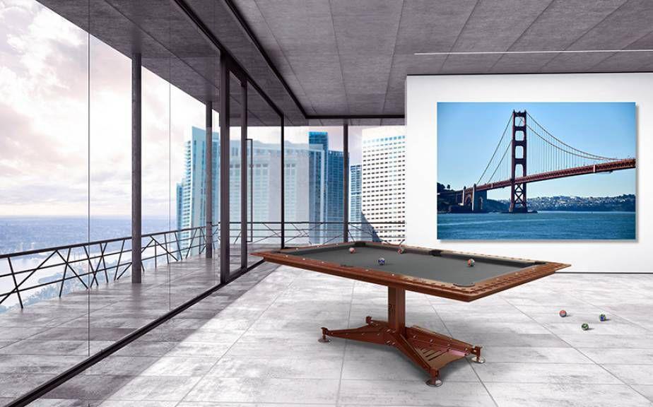 Tavolo da biliardo moderno / trasformabile in tavolo da ...