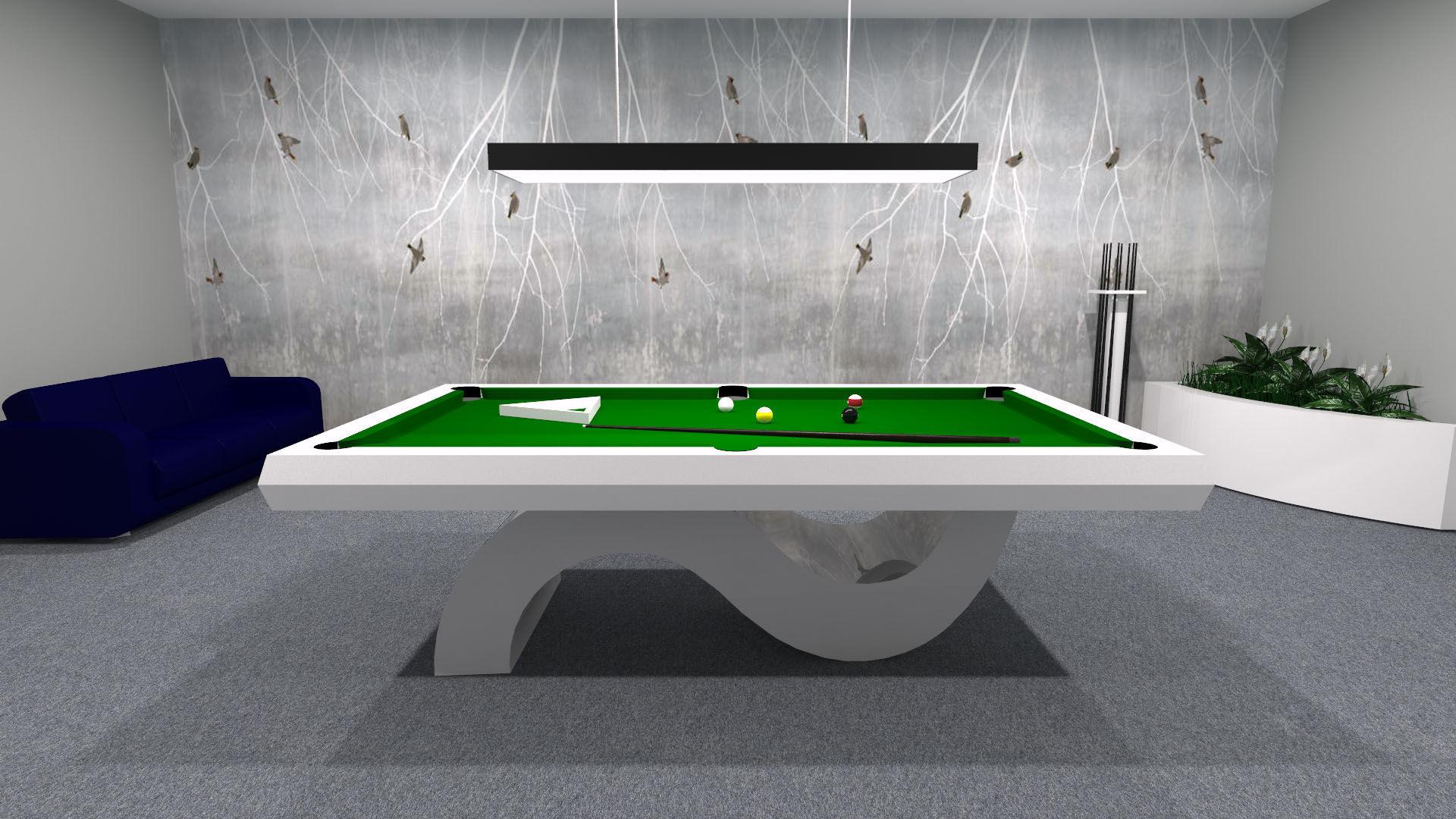 Tavolo Da Biliardo Moderno.Tavolo Da Biliardo Moderno Trasformabile In Tavolo Da Pranzo