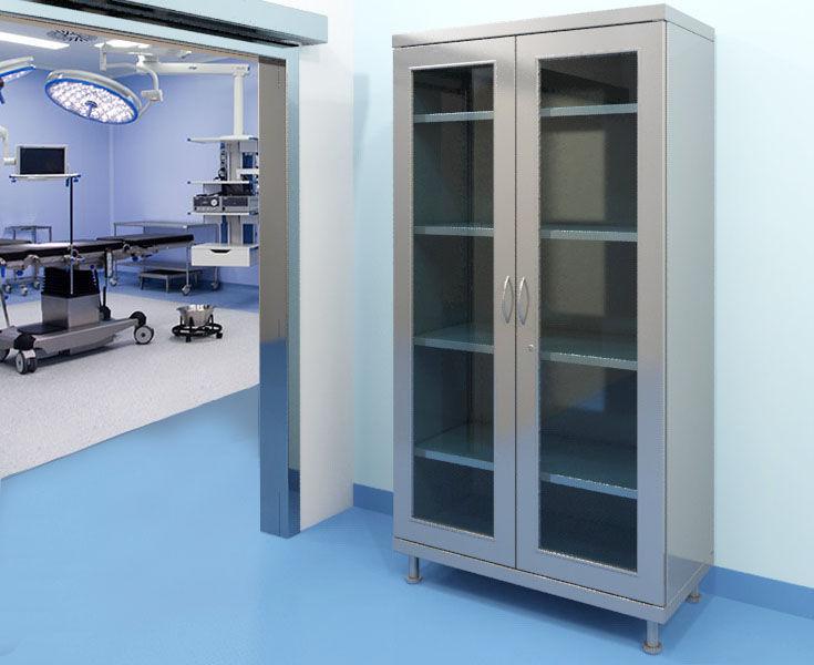 armadio modulare / moderno / in acciaio / con ante battenti