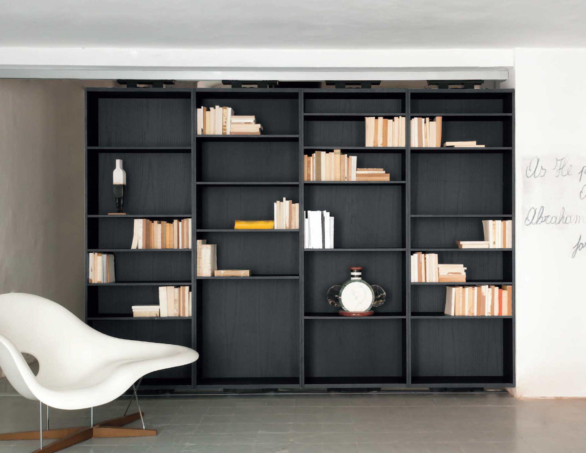 Albed Libreria Girevole Prezzo libreria modulare - vista girevole - albed - pavimento