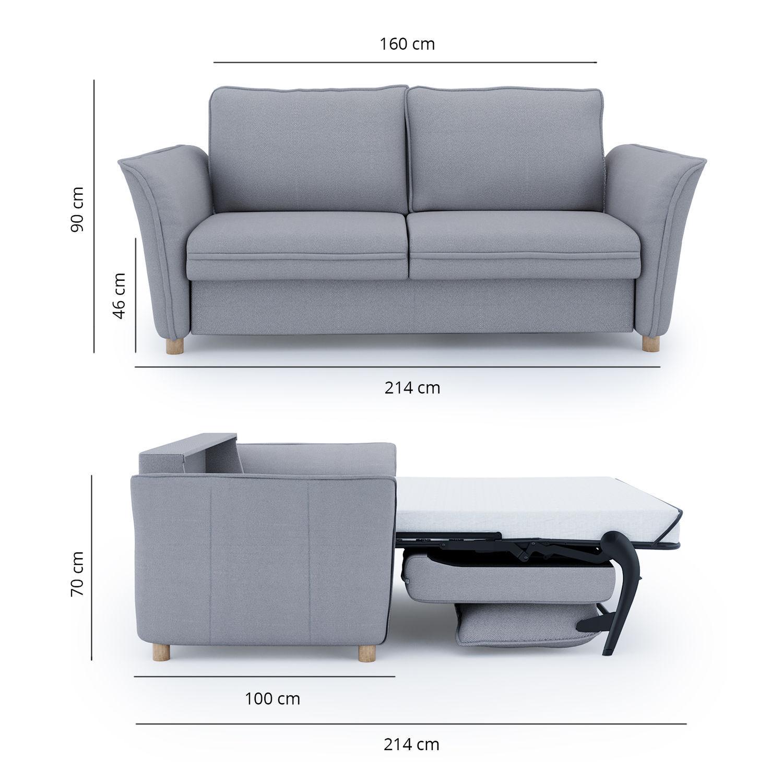 Divano Letto Design.Divano Letto Ar 100 20 30 20 011 Place To Be Design