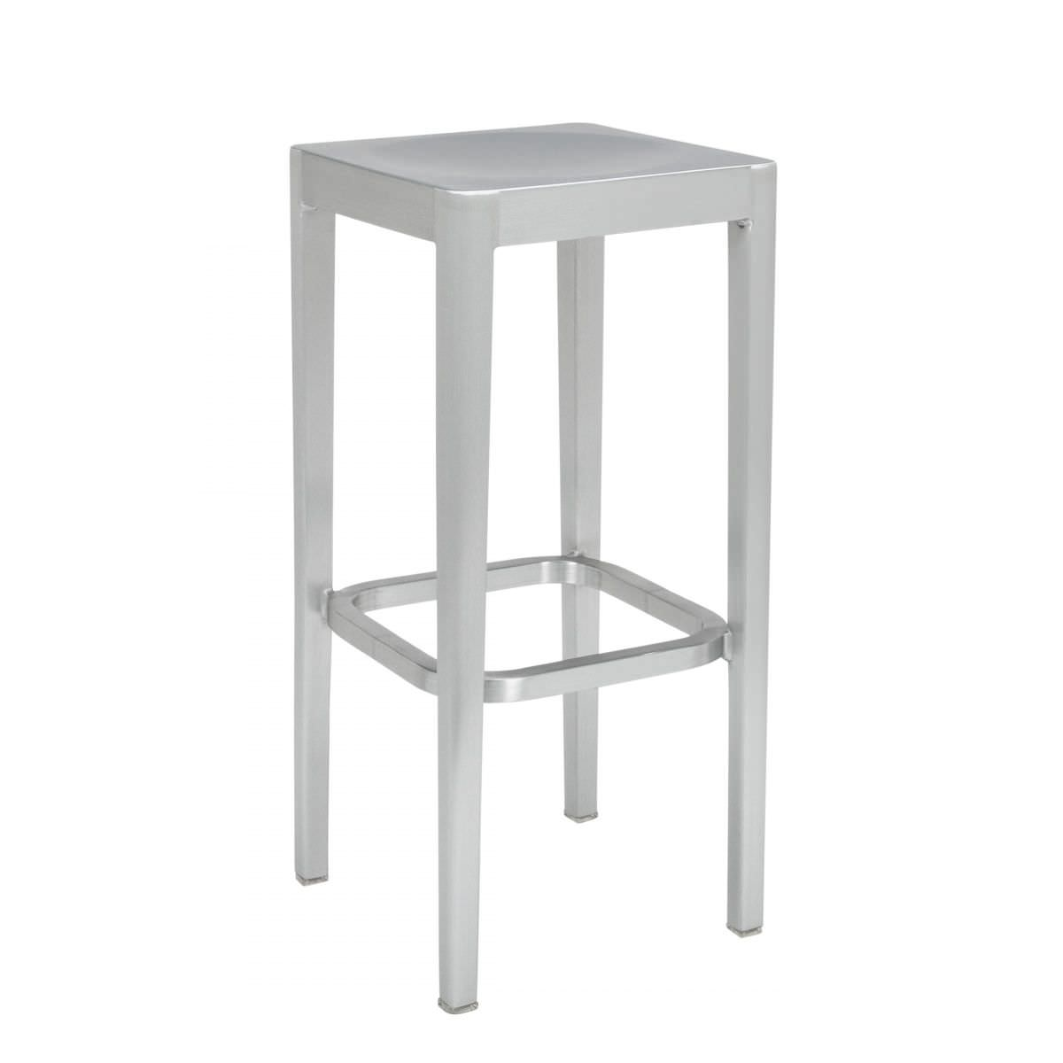 Sgabelli In Alluminio Per Bar.Sgabello Da Bar Moderno In Alluminio Di Philippe Starck