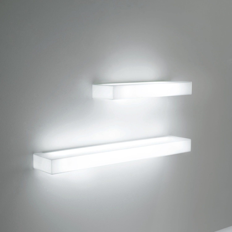 Mensole In Vetro Luminose.Mensola Moderno In Vetro Luminoso Light Light By Nanda