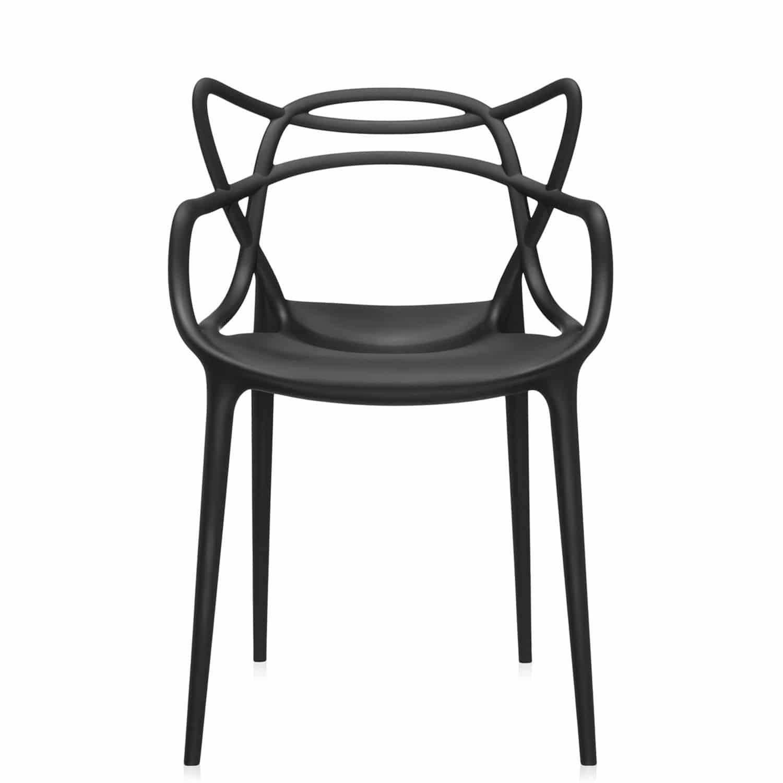 MASTERS - Sedia moderna / con braccioli / impilabile / in polipropilene by  Kartell | ArchiExpo