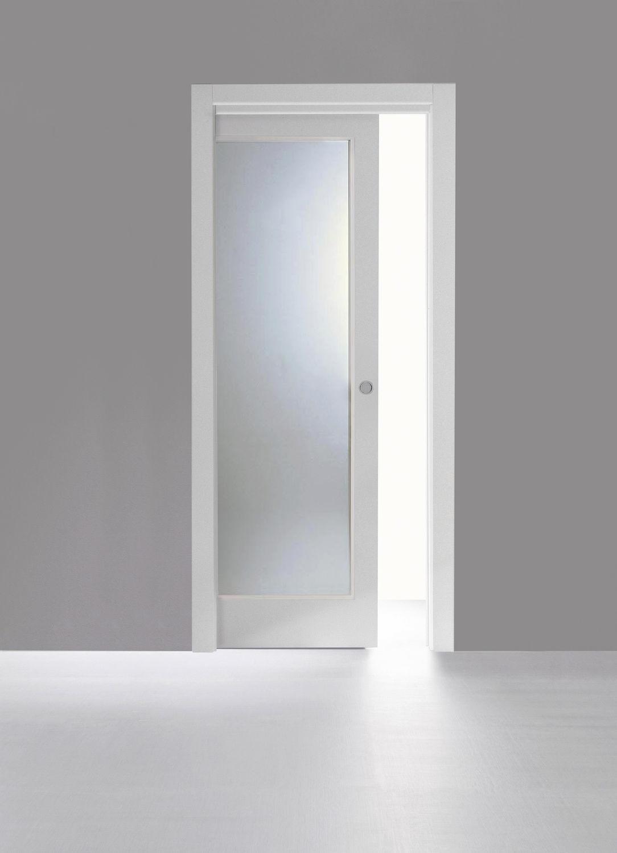 Porta da interni / scorrevole / in legno - SCORREVOLE ...
