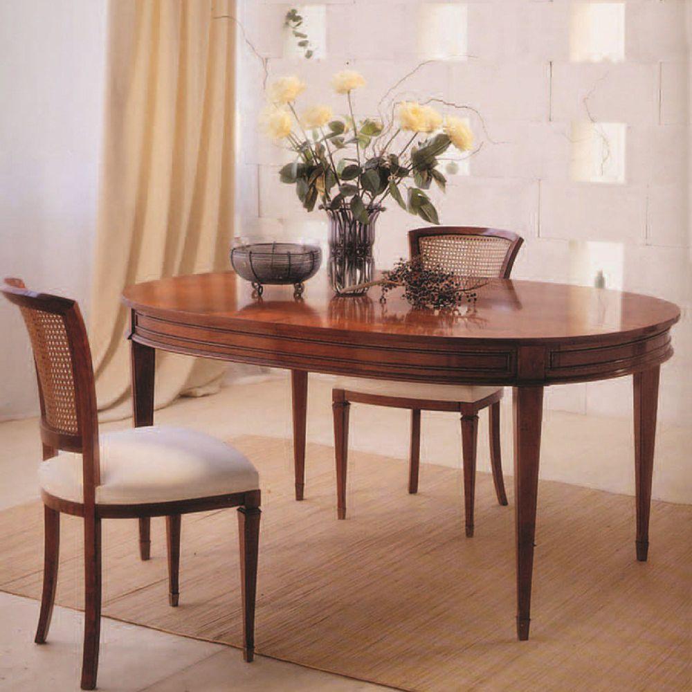 Tavolo da pranzo classico - C1173 - ANNIBALE COLOMBO - in ...