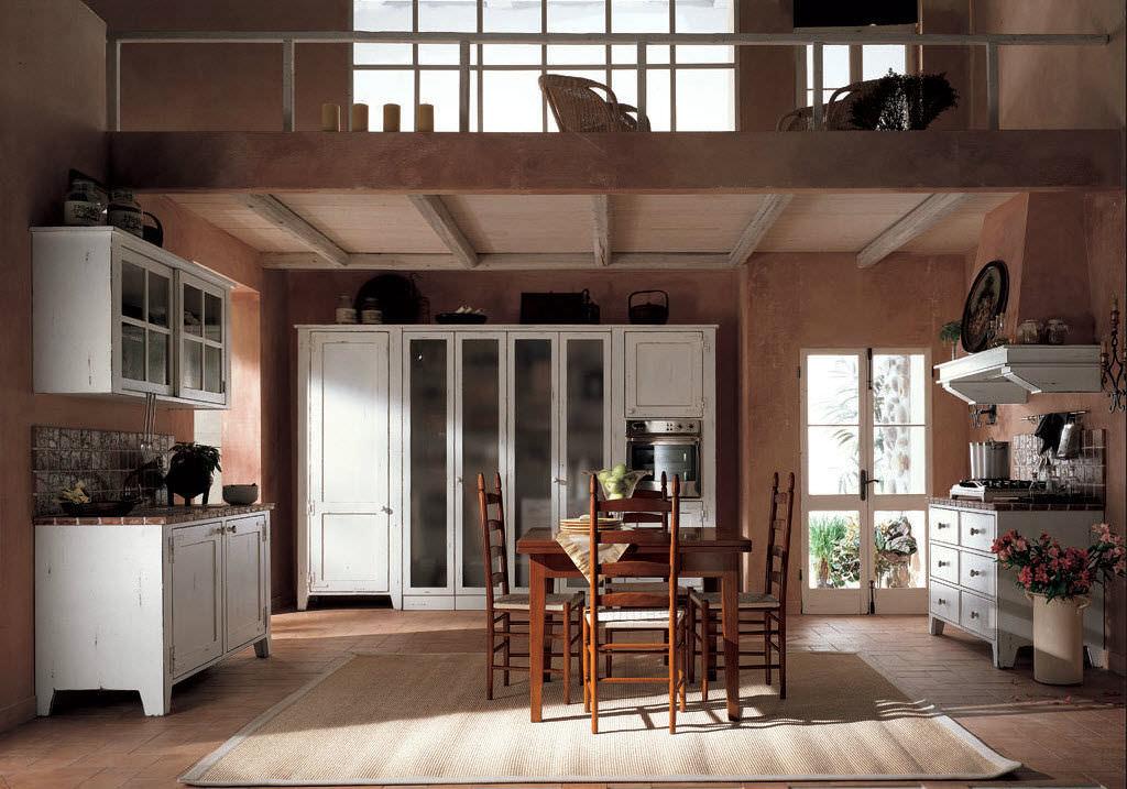 Cucina classica / in legno / con impugnature - BRETAGNA ...