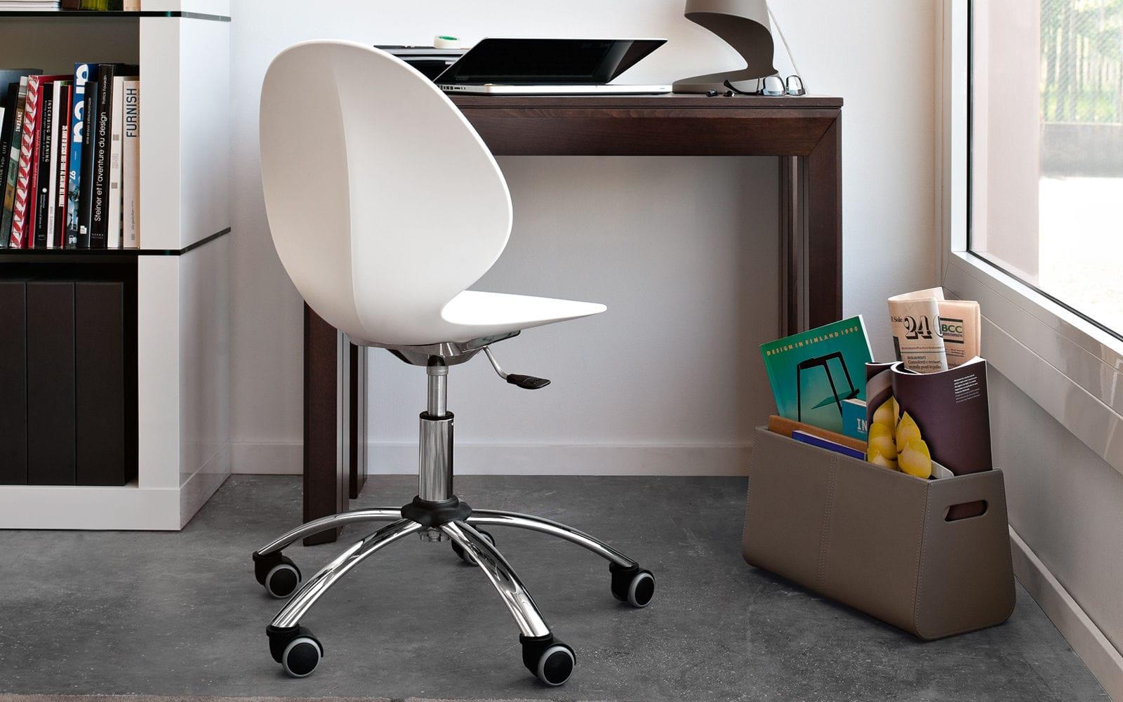 Calligaris Sedie Ufficio.Sedia Da Ufficio Moderna Con Rotelle Girevole Regolabile