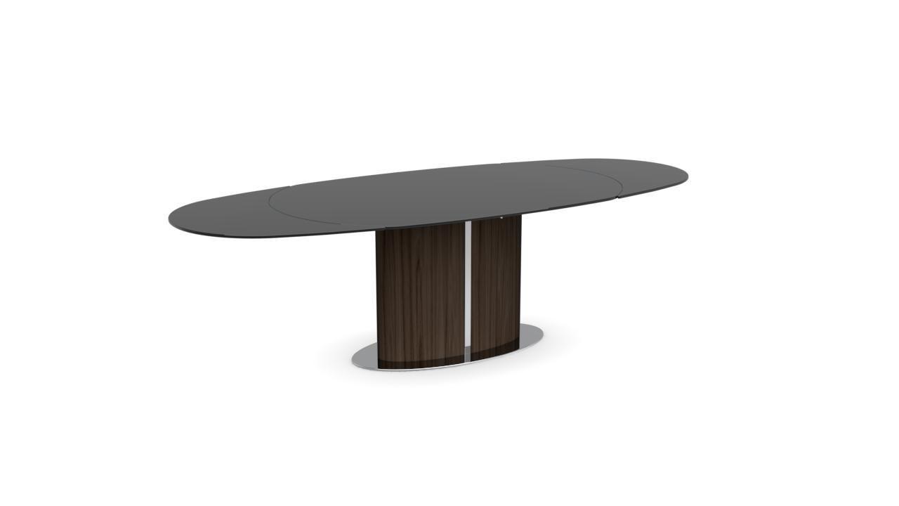 Tavolo da pranzo moderno ODYSSEY calligaris in vetro