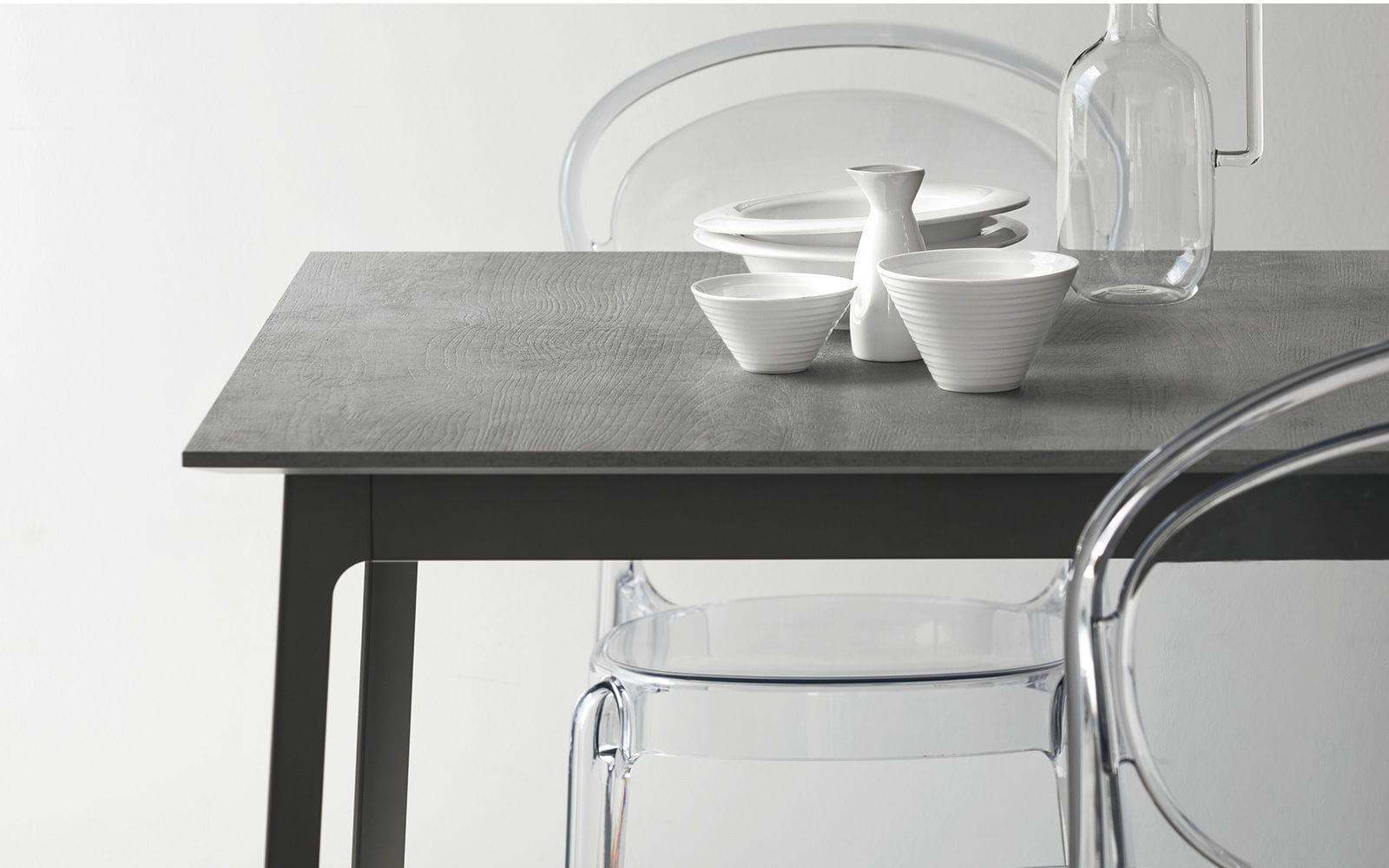 Calligaris Tavoli Da Cucina.Tavolo Da Pranzo Moderno In Metallo In Melamminico