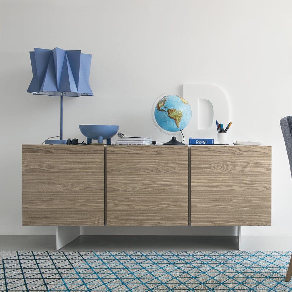 SIPARIO - Credenza moderna / in legno / in metallo / bianca by calligaris    ArchiExpo
