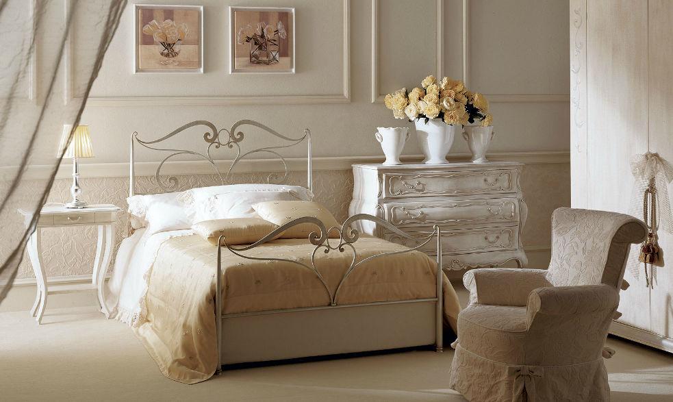 letto singolo / classico / in ferro battuto
