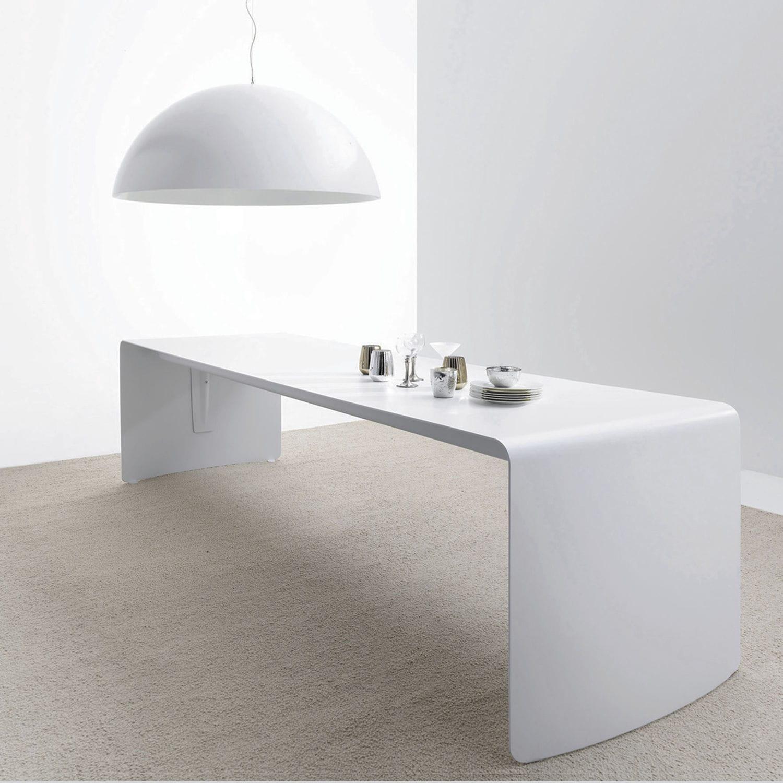 Tavolo da pranzo moderno / in alluminio laccato ...