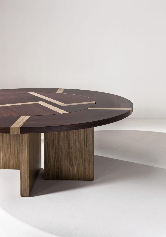Tavolo moderno / in legno / tondo / per ufficio - BD 07 T by ...