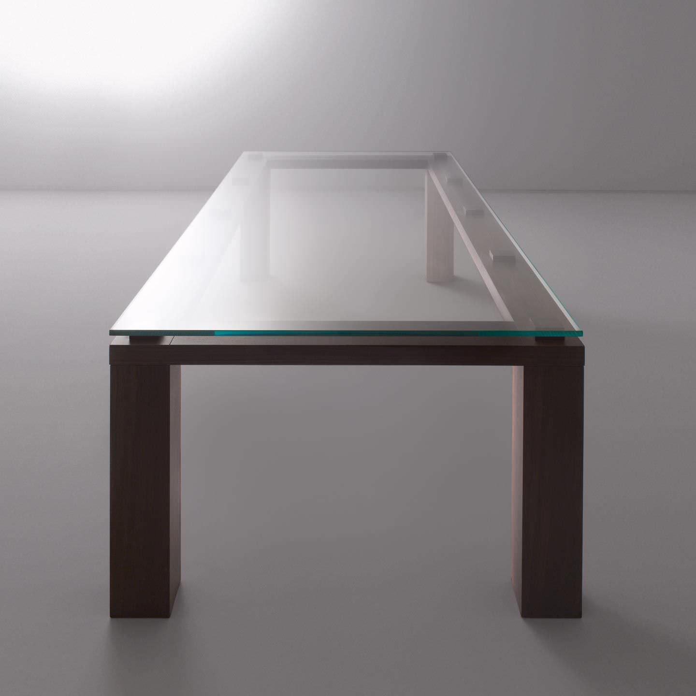 Tavolo Cristallo Rettangolare.Tavolo Moderno In Cristallo Rettangolare Bd 01 A By