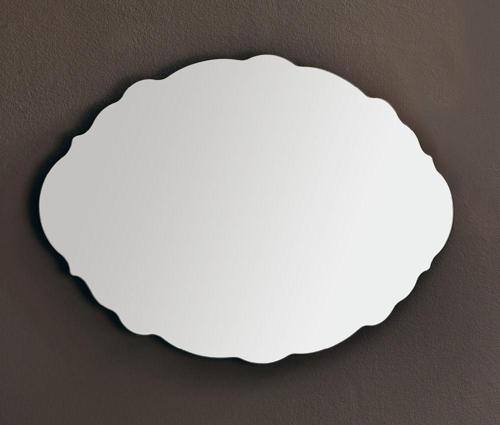 Specchi Da Muro Moderni.Specchio Da Bagno A Muro Moderno Nuvola Eban