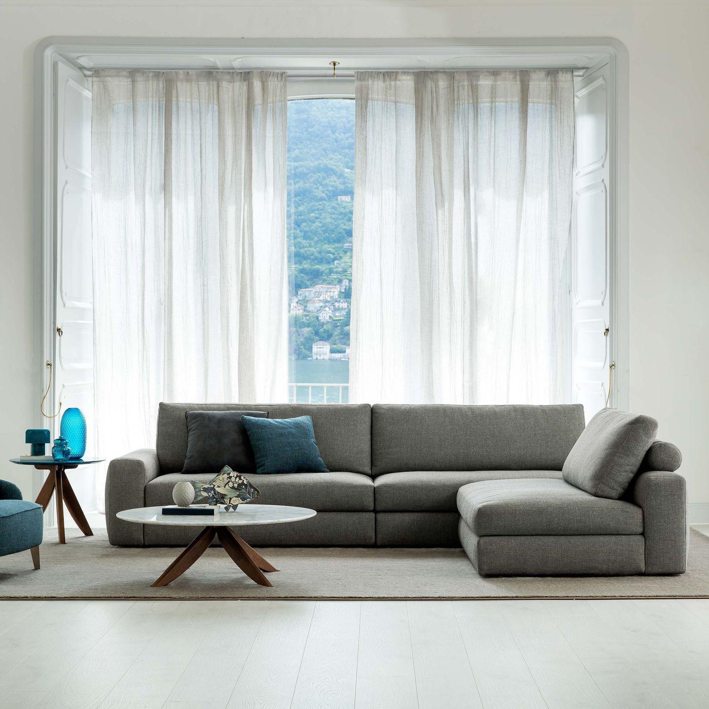 Divano Modulare Moderno.Divano Modulare Moderno Indoor In Pelle Joey Berto Salotti