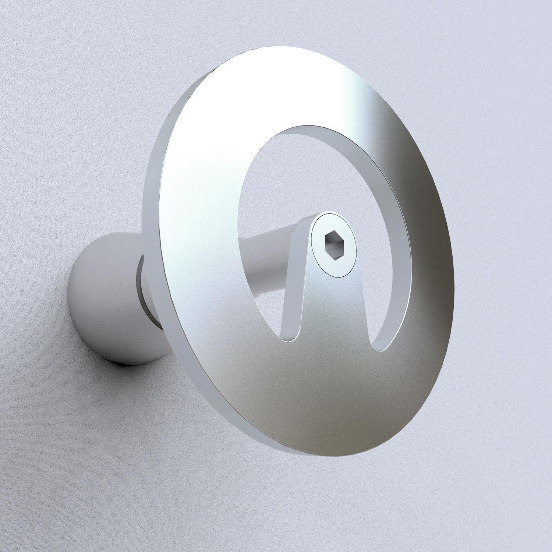 Appendiabiti Da Parete Design Minimalista In Acciaio Da