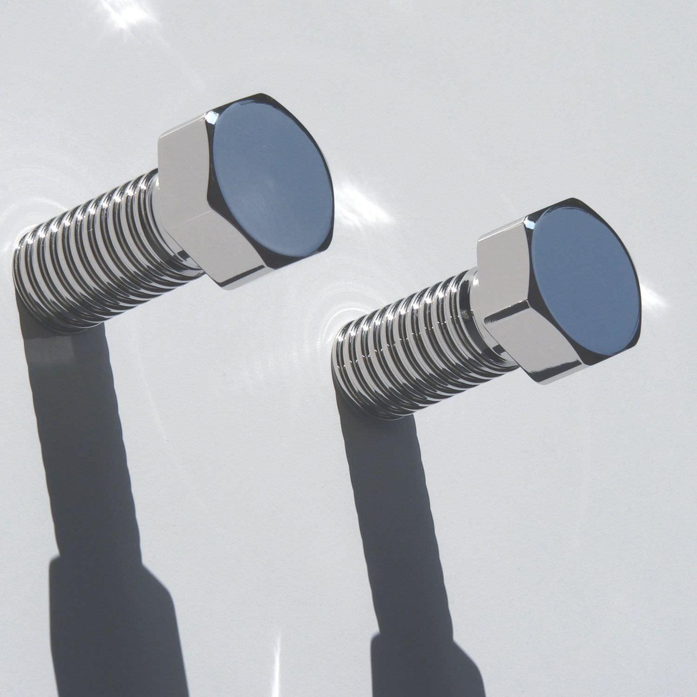 Appendiabiti a muro / moderno / in metallo - BOLT - INSILVIS