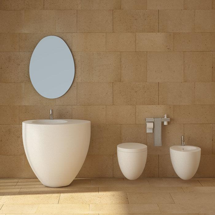 Ceramica Cielo Le Giare Prezzi.Lavabo Da Terra Ovale In Ceramica Design Originale