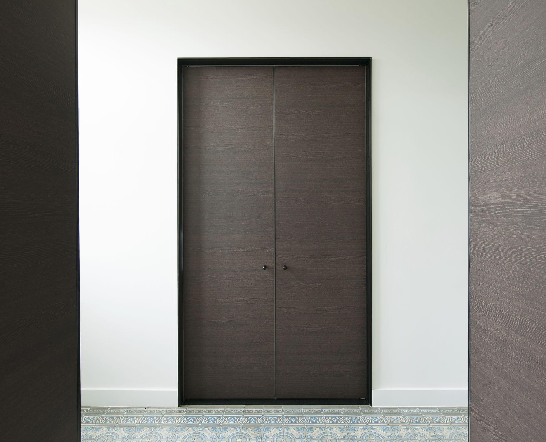 Porte In Alluminio Anodizzato cornice di porte in alluminio anodizzato - obo-b - anyway doors