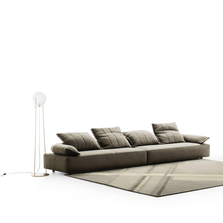 Divano modulare / moderno / in tessuto / reclinabile - FLICK ...