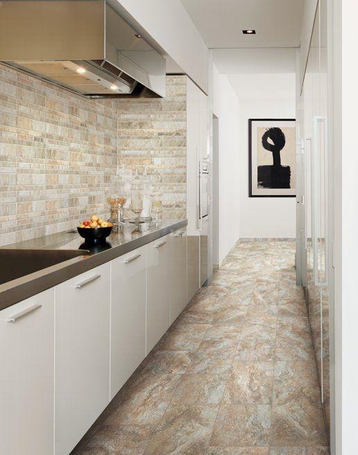 Piastrella da interno / da cucina / da parete / in gres porcellanato ...