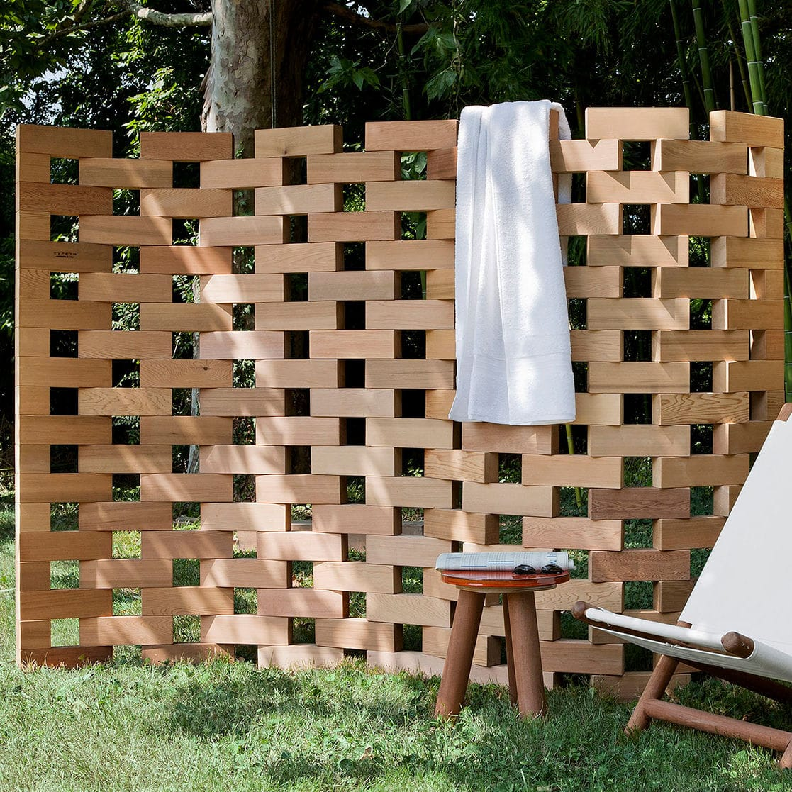 Paravento In Legno Per Esterni paravento moderno - zen - exteta - in legno / da giardino